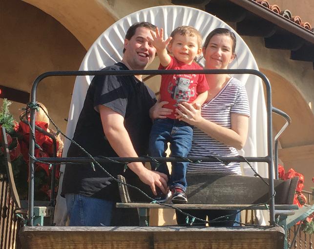 Fun on a wagon ride