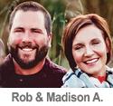 Meet Rob & Madison A.